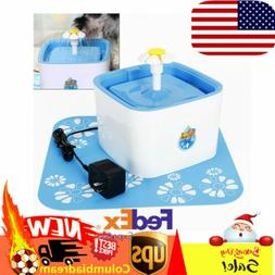 2.5L Pet Water Fountain Flower Automatic Drinking Water Filt
