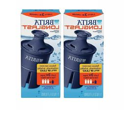 2 Pack Replacement  Longlast Pitcher Water Filters Dispenser