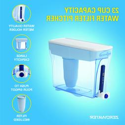 ZeroWater® 23 Cup Ready-Pour® Water Dispenser with Water Q