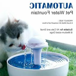 2L Automatic Pet Water Fountain Filtered Drinking Bowl Dispe