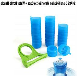 3 replacement water bottle snap