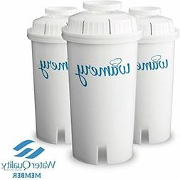 3Water Filter Replacement Fit Brita Pur and Universal Pitche