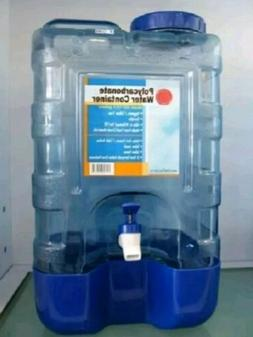 4 Gallon Plastic Water Bottle Polycarbonate with Faucet Spig