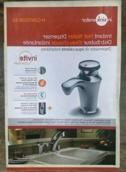 InSinkErator H-CONTOUR-SS Instant Hot Water Faucet Replacement NEW Chrome Color