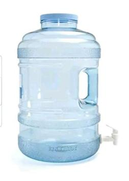5 Gallon Home Drinking Water Bottle Dispenser Jug with fauce