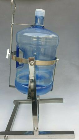 5 gallon water bottle pouring stand Dispenser All parts made