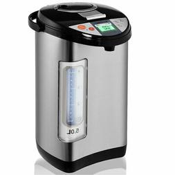 5-Liter LCD Water Boiler and Warmer Electric Hot Pot Kettle