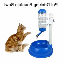 500ml Dog Food Bowl Automatic Water Dispenser Stand Feeder B