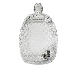 Circleware 69152 Sun Tea Jar Beverage Dispenser and Glass Li