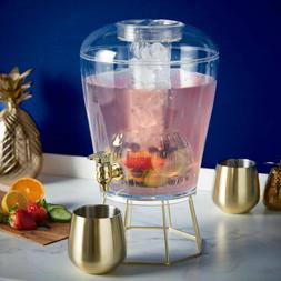 7 Litre Party Drinks Dispenser with Tap Cocktail Punch Water