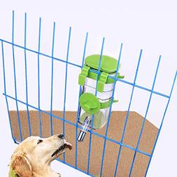 Dogs Crate Water Bottle Dispenser-Best Collapsible Water Aut