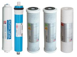 """APEC 90 GPD Replacement Water Filter With 3/8""""D Tubing Quick"""