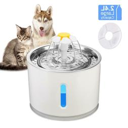 automatic cat fountain pet drinking water dispenser