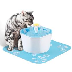 Automatic Cat Water Fountain Electric Pet Drinker Bowl Dispe
