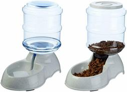 Automatic Dogs Water Dispenser Water Bowl Drinking Fountain