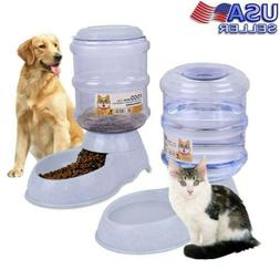 Automatic Pet Water Feeder Dispenser Bowl Drink Dish Filter
