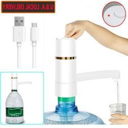 Automatic Water Pump Electric Portable Drinking Bottle Dispe