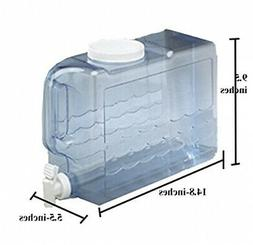 Beverage Container 2.5-Gallon Plastic Slimline Water Dispens