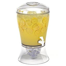 Estilo Beverage Dispenser on Base with Ice Core and Flavor I