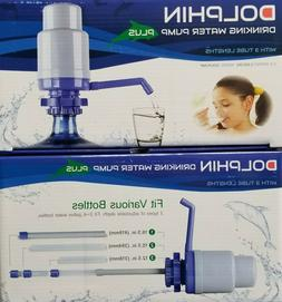 Bottled spring water dolphin hand pump