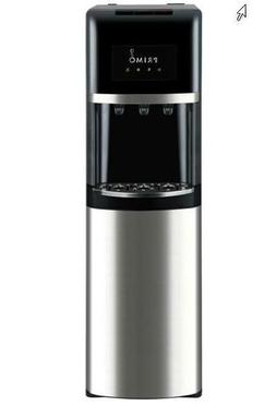 Primo Bottom Load Water Cooler Stainless Steel/Black, 3 or 5