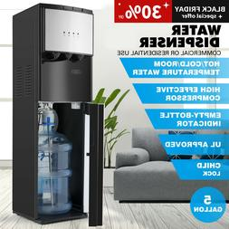 Bottom Loading Water Cooler Dispenser Stainless Steel 3-Temp