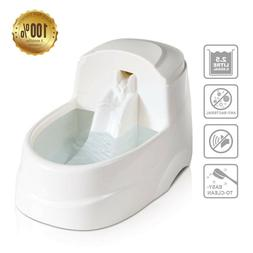 Automatic Cat Water Fountain Dog Water Dispenser with 5 Repl