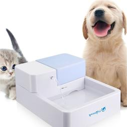 isYoung Cat Water Dispenser LED Pet Filter Drinking Fountain