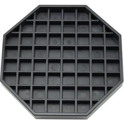 Coffee Countertop Octagon Drip Tray - 6 - Black
