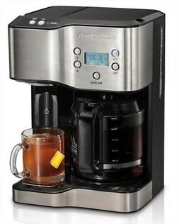 Hamilton Beach Coffee Maker Programmable 12-Cup Hot Water Di