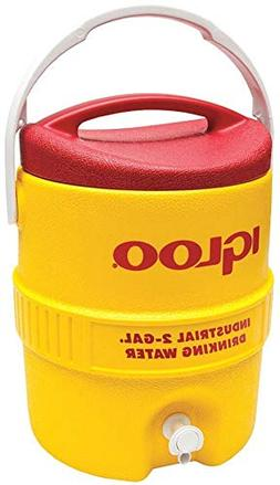 Igloo Beverage Cooler 2 Gal Yellow/Red