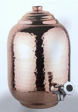 Copper Water Dispenser Capsule Matka Storage Pot Tank Drink