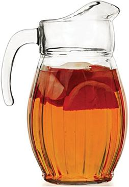 Circleware 55374 Corisca Glass Carafe Large 8 Cup Water Pitc