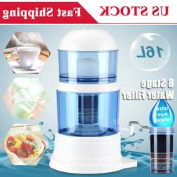Countertop 8 Stage 16L Mineral Water Purifier Filtration Sys