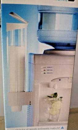 cup holder dispenser for all water coolers