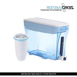 ZeroWater 23-Cup Dispenser with Free TDS Meter  ZD-018