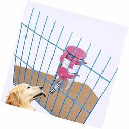 Yitour Dog Kennel Water Bottle Dispenser - Pink Big Cage Cra