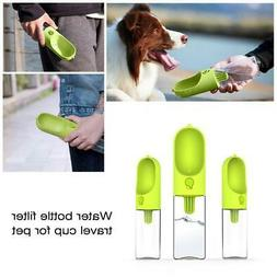 DOG PUPPY PORTABLE WATER DISPENSER DRINK FOR PETS OUTDOOR WA