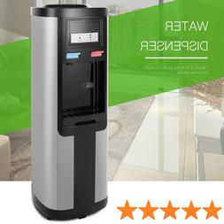electric hot cold water dispenser cooler stainless