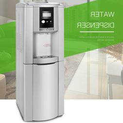 Electric Hot Cold Water Cooler Dispenser Stainless Steel Top