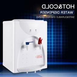 Electric Water Dispenser Hot Cold Tabletop 5 Gallon Top Load