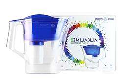 New Wave Enviro Alkaline Pitcher with Lead Removal , Blue