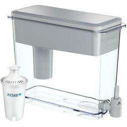 Brita Filtered Water Dispenser BPA Free 18-Cup UltraMax Slip