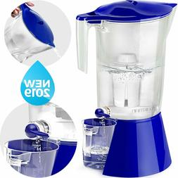 Filtered Water Dispenser with Stand - 1 gallon pitcher
