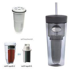Zerowater Filtration Tumbler with Ion Exchange Filter