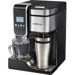 FlexBrew Programmable Single-Serve Coffee Maker with Hot Wat