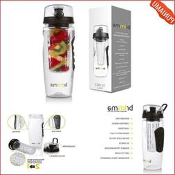 Fruit Infuser Water Bottle Leak Proof Outdoor travel Gym Dis