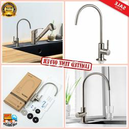 iSpring GA1-BN Heavy Duty Non-Air Gap Drinking Faucet for Wa