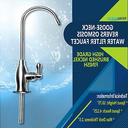 Goose-neck High Spout Cold Water Kitchen Drinking Faucet Dis