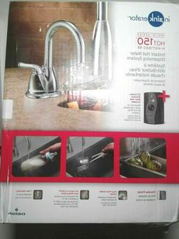 InSinkErator H-HOT150C-SS Water Dispenser - Chrome New